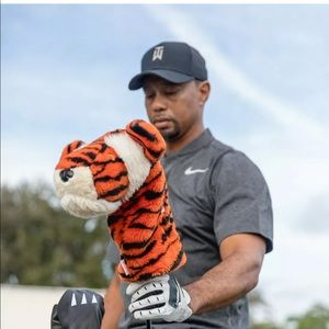 Daphne Golf Tiger Woods Driver Head Cover Plush